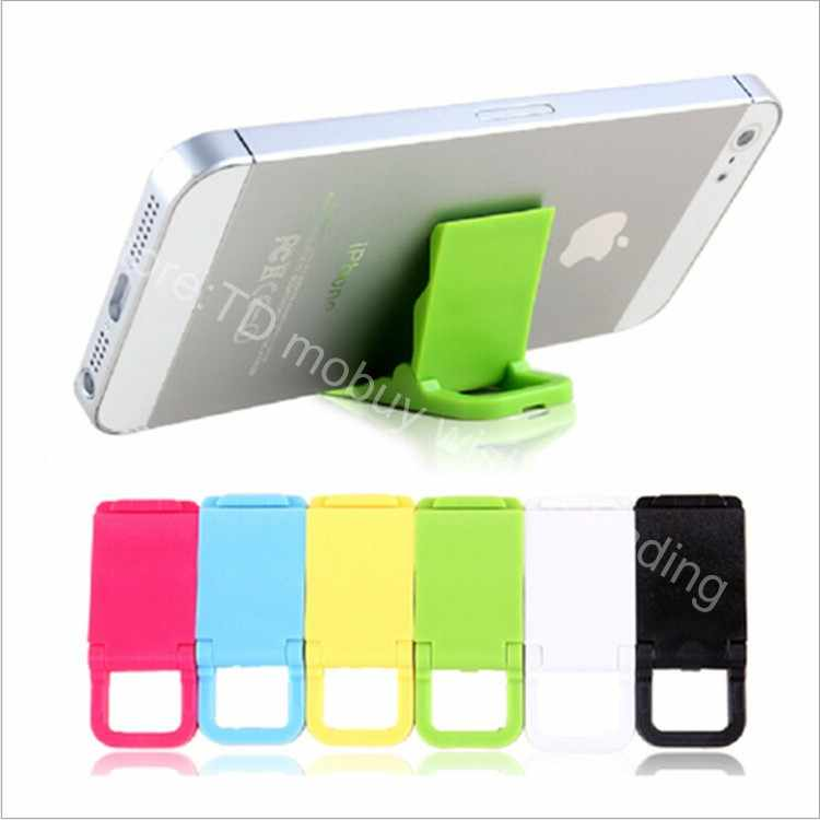3pcs/lot Mini Cute Mobile Cell Phone Desk Table Foldable Lazy Holder Office Bed Stand Mount for Cellphone/Smartphone Lovely Dock