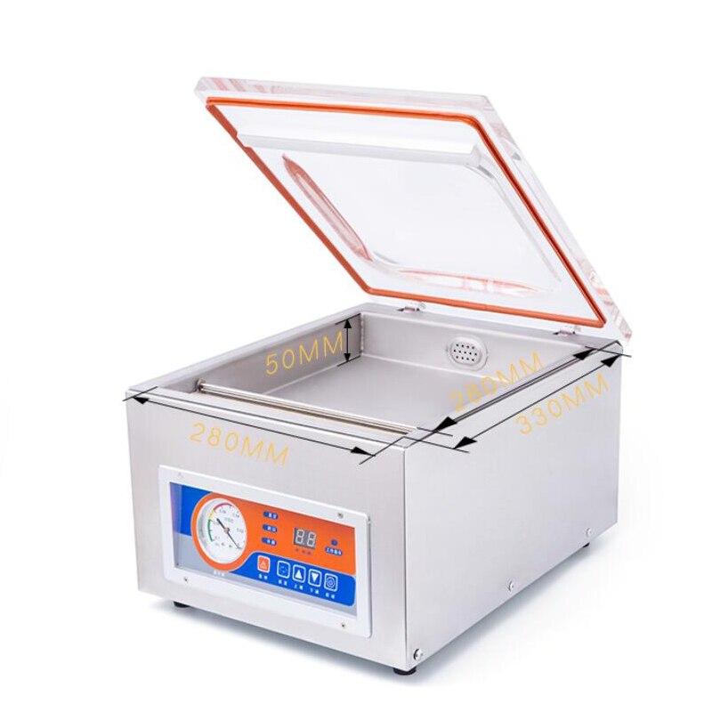 Jamielin agrandie machine à vide de bureau petite machine de cachetage de ménage machine de cachetage en plastique machine à vide à chambre unique