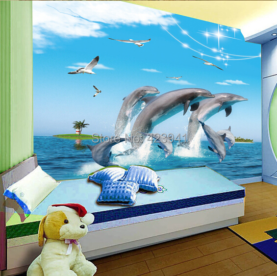 Buy can customized large 3d mural wall - Tapisserie chambre d enfant ...