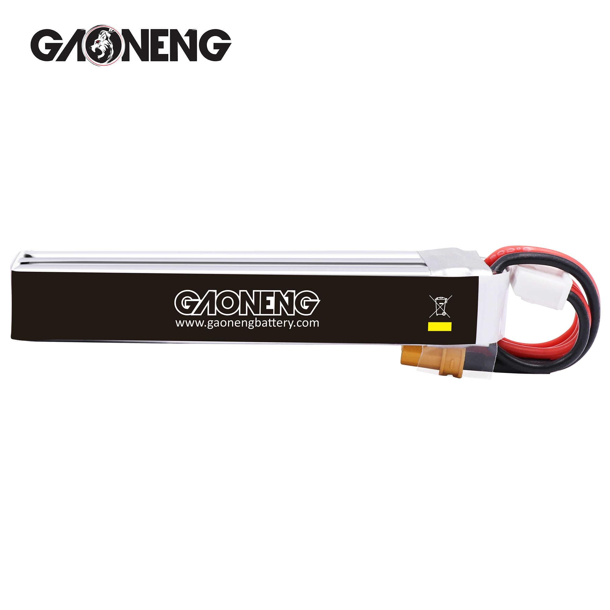 4 piezas Gaoneng GNB 3S 350MAH 11,4 V HV 4,35 V 30C/60C batería Lipo XT30 macho fullSpeed TinyLeader RC FPV Racing DroneCine Whoop