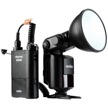 Godox WITSTRO AD360II-N+X1 TTL 360W/S Wireless Power Control Outdoor Flash Light + PB960 Power Battery Pack Kit Black for Nikon