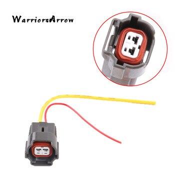 WarriorsArrow 2-контактный топливный инжектор вилка соединителя с проводом жгута для VW Golf Jetta Polo для AUDI A4 A6 для SKODA для сиденья 06A973722