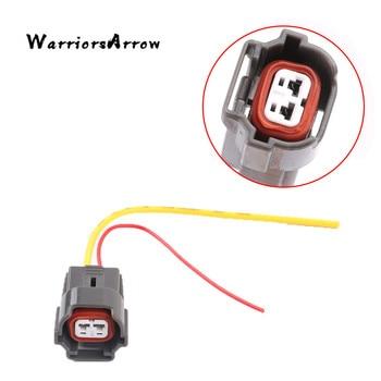 Warriorsarrow 2 pinos conector do injetor de combustível plugue chicote de fios para vw golf jetta polo para audi a4 a6 para skoda para seat 06a973722