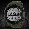 2015 hot Men Quartz Sports relógios de Pulso Dos Homens da Banda de Silicone À Prova D' Água LEVOU Temporizador 4D3W 6T35 92ZT