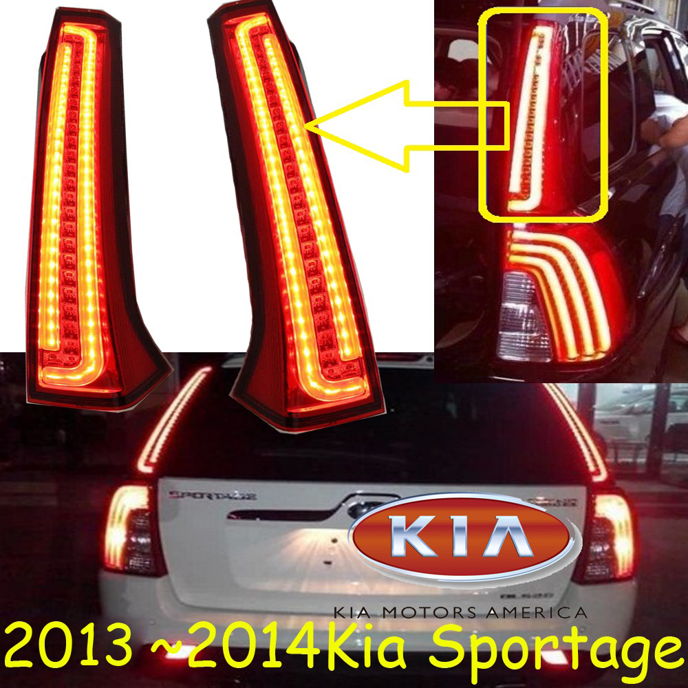 KlA Sportage taillight,SUV,2007~2012/2013~2015,Free ship!2pcs/set,Sportage rear light,Sorento,cerato,SportageR ks is rubij