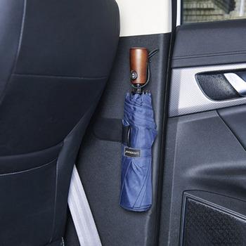 CHIZIYO wielofunkcyjny samoprzylepne Home parasol samochodowy hak wielu uchwyt na wieszak fotel samochodowy klip mocujący Rack parasol organizator tanie i dobre opinie Black A385 Sticky Automobile Household Umbrella Hook