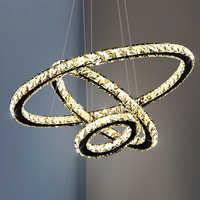 Luces colgantes de comedor LED modernas, luminaria suspendida, anillo led de suspensión, lámpara de techo colgante