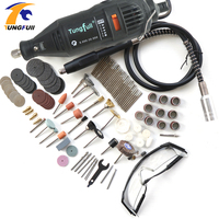 Tungfull Dremel Style Engraver Tool Jewellery Milling Drilling Machine Rotary Tool Cutting Machine With Flex Shaft