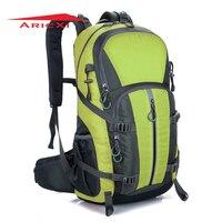ARICXI Outdoor Camping Wear Resistant 40L Backpack Mountaineering Hunting Travel Backpack Big Capacity Waterproof Sports Bag