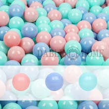5.5cm Colorful Soft Plastic Ocean Ball Baby Kid Swim Toy Water Pool Outdoor Sports Funny Kids Pit