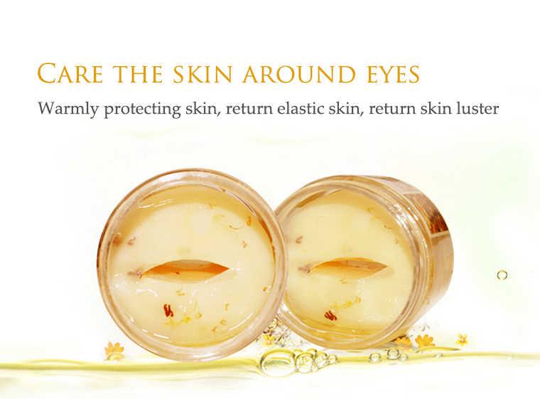 BIOAQUA الذهب أوسمانثوس قناع عين للعناية بالعين 80 قطعة خطوط غرامة كريم عين مزيل الترطيب دائرة داكنة مكافحة الانتفاخ