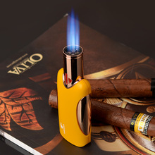 COHIBA Four torch Flame Cigar Lighter Windproof Refillable B