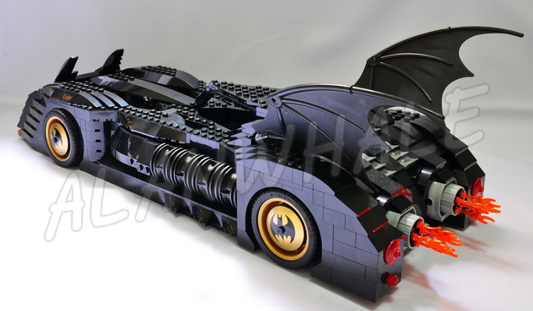 1045pcs Super Heroes Batman Batmobile Ultimate Collectors Edition 7116 Model Building Block Toys Bricks Compatible With lego
