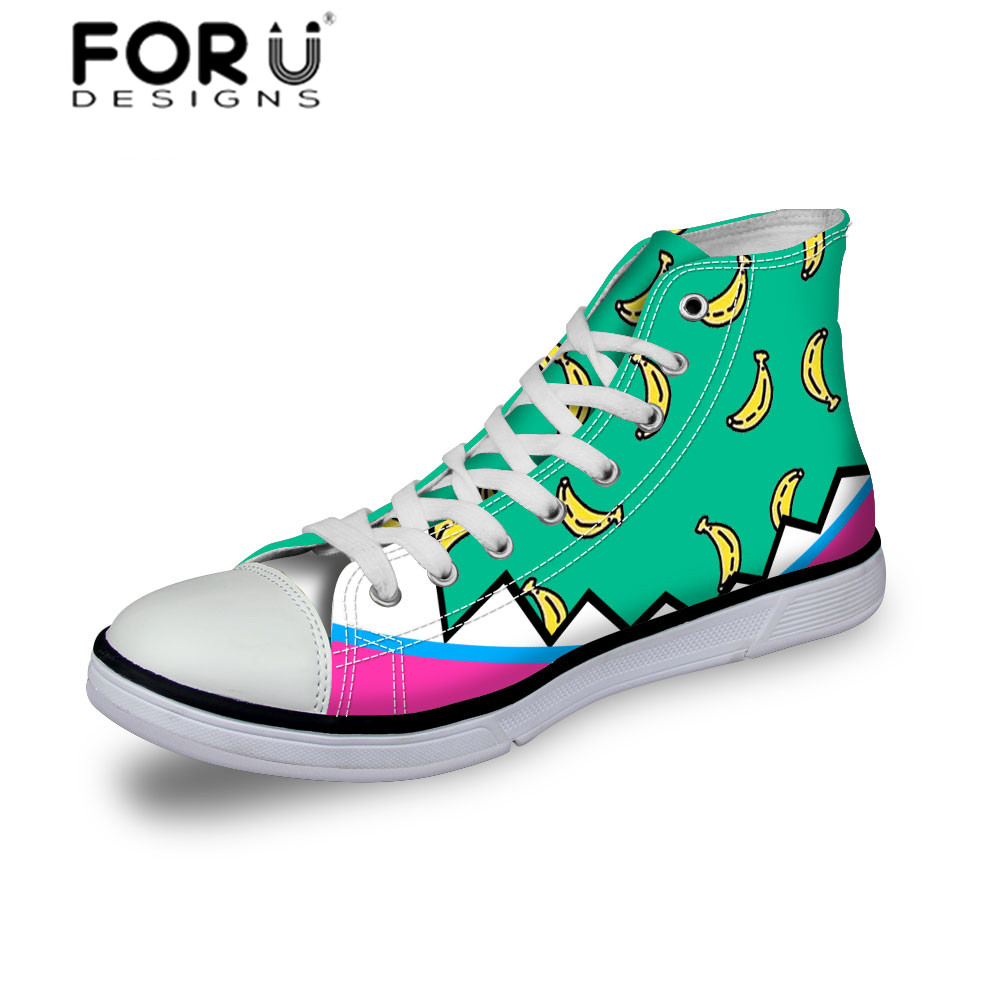 FORUDESIGNS Fresh Cute Canvas Shoes Candy Color Student Flats High Canva  Shoes Trendy Comfortable Ladies Shoes Slip Shoes-in Men s Casual Shoes from  Shoes ... 6a47dcd23e3b