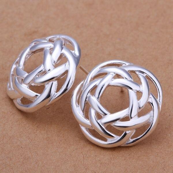 Серьги-гвоздики из Китая