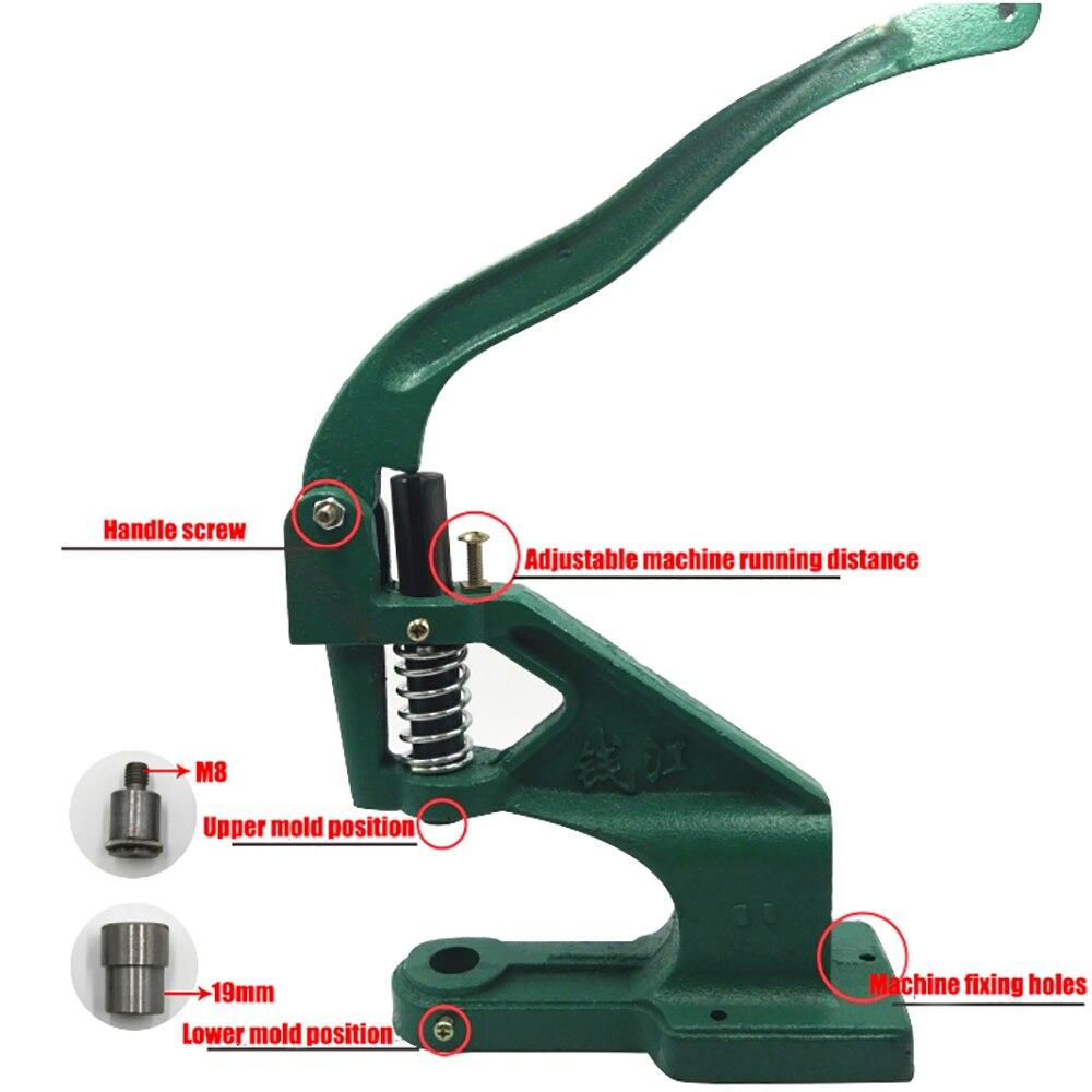 5mm ilhós ferramenta de instalação alavancagem alicate