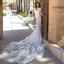 LEIYINXIANG Arriva Wedding Dress Backless