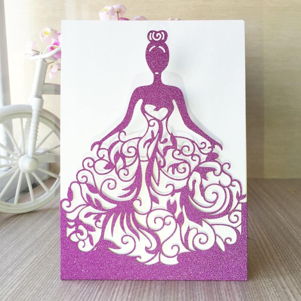 Cheap Laser Cut Wedding Invitations Online