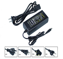 12V 8A power adapter switching supply Desktop two-wire for LED light monitoring 2Pcs/lot