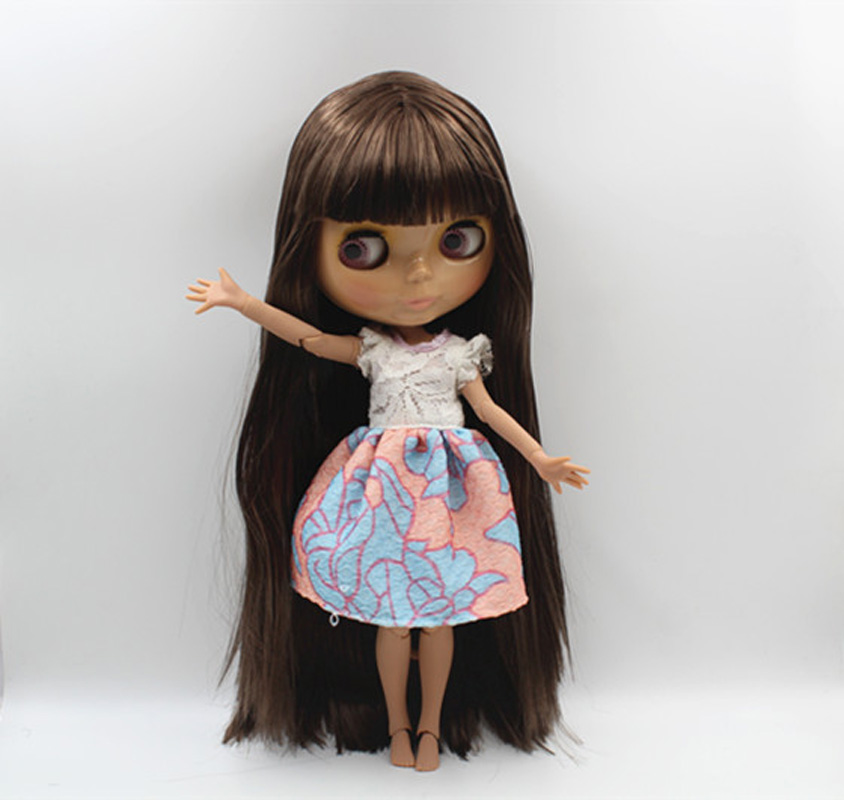 Free Shipping Top discount 4 COLORS BIG EYES DIY Nude Blyth Doll item NO. 390J Doll limited gift special price cheap offer toy free shipping top discount joint diy nude blyth doll item no 310j doll limited gift special price cheap offer toy usa for girl