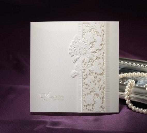 Luxury Wedding Cards, Wedding Invitation, B0036, Include