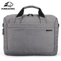 Kingsons Waterproof 12.1/13.3/14.1/15.6/17.3 inch Notebook Computer Laptop Bag for Men Women Briefcase Shoulder Messenger Bag
