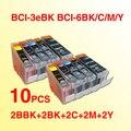 Wholesale 10pcs BCI-3 ink cartridge BCI 3 BCI 6 compatible for Canon BJC-3000/3010/3200/BJC-6000/6100/6200/6500/i550