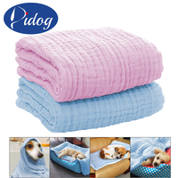 Soft Dog Cat Blanket Towel Puppy Dogs Kitten Warm House Mat Pet Sleep Bed Blankets Pink