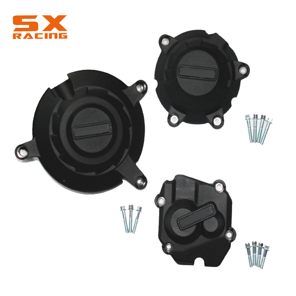 Black Motorcycle Engine Stator Guard Cover Protection Kit For KAWASAKI ZX-10R ZX10R ZX 10R 2011-2016 11 12 13 14 15 16Black Motorcycle Engine Stator Guard Cover Protection Kit For KAWASAKI ZX-10R ZX10R ZX 10R 2011-2016 11 12 13 14 15 16