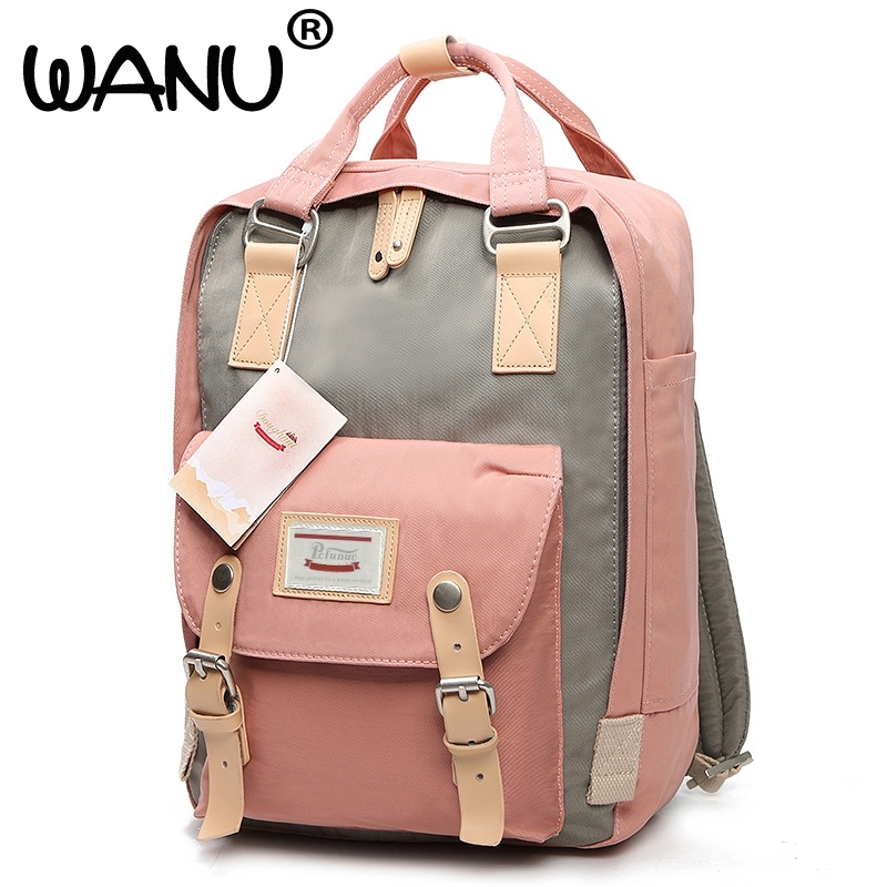 New Fashion Backpack For Girls Teenager Bags Large Capacity Travel Bag Top-handle Bags High Quality Women Style BACKPACKS