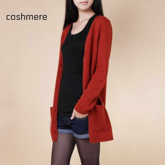 Addonee Frühling Herbst Winter Kaschmir Strickjacke Weibliche Medium-Lange Wolle Pullover Lose Lange-sleeve Plus Größe Wilden Solide warm Schlank