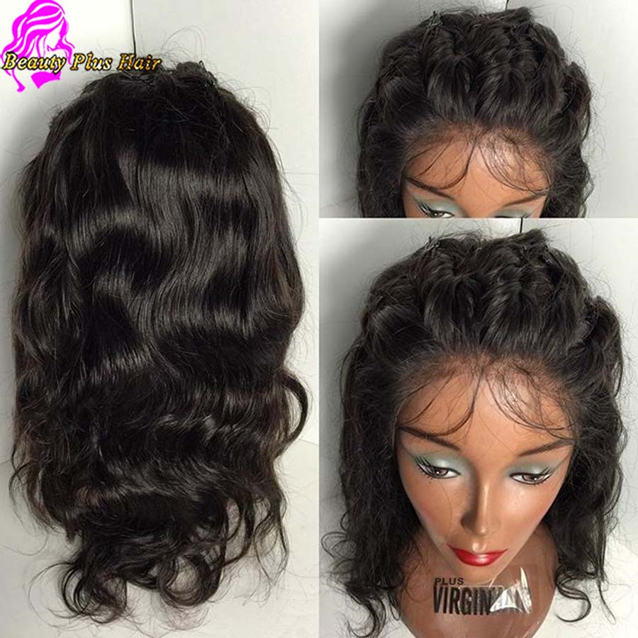 7a Short Lace Front Wigs Natural Wave Malaysian Wigs Wtih