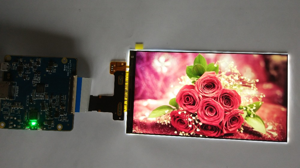 NEW arrival 6 inch 2k 1440P 2560*1440 LS060R1SX02 LCD LCM hdmi to mipi controller board for DIY projector video projector