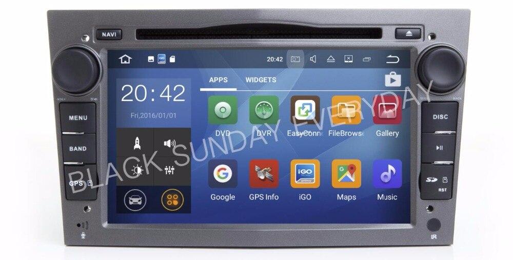 Android 8.0 4G LTE Voiture DVD PC Multimédia Lecteur DVD GPS Navi stéréo Radio Fit Opel Vectra Zafira A B C Corsa Astra Meriva Antara