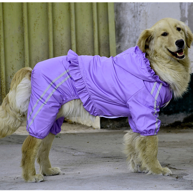 Waterproof Clothing For Large Dog Raincoat Happierpets Costumes Winter Dogs Clothes Cheap Golden Labrador Retriever Clothes