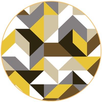 Европейские Простые круглые ковры для гостиной, компьютерное кресло, коврик для детской игровой палатки, ковры и ковровое покрытие для раздевалки - Цвет: 10