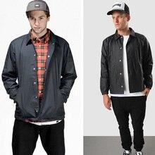 Spring Autumn Men Jackets Retro Coaches Coat New Fashion Turn Down Collar Bomber Windbreaker Mens Jacket and Coats S-3XL