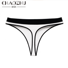 Middle High Waist Thong Wide Edge Double Colors Lady Girls Cotton Quality Stretch Fashion Red White Black Grey Underwear