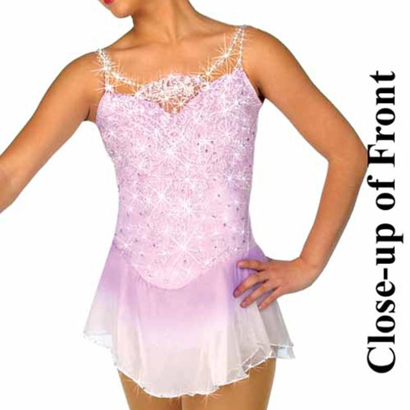Ice skating dress Competition Figure Skating Baton Twirling Child Adult costume