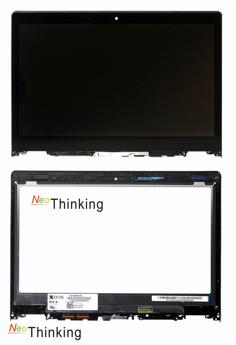 NeoThinking Lcd Assembly For Lenovo IdeaPad Yoga3 14 Touch Screen Digitizer Glass Replacement With frame free shipping replacement lcd digitizer capacitive touch screen for lg vs980 f320 d801 d803 black