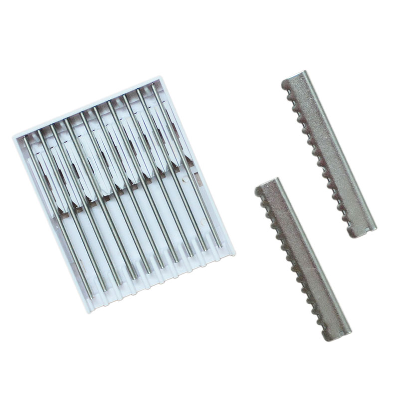 10pcs/lot  Razor Blades Stainless Steel Shaver Blade For Hair Trimmer Hair Extension Ultrasonic Hot Razor queen free shipping by hk post mail ultrasonic hot vibrating razor for hair cut human hair extension remy hair beauty salon