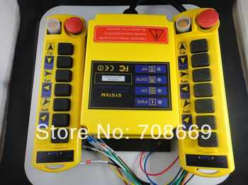 1 Speed 2 Transmitters 8 Channels Hoist Crane Radio Remote Control System A100 - DISCOUNT ITEM  8% OFF All Category