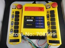Système de télécommande Radio A100 1 vitesse 2 émetteurs à 8 canaux, grue de levage