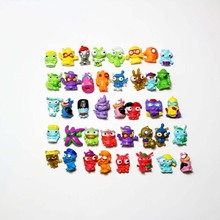 10pcs/lot 3cm Animal Garbage Doll Anime Trash Dolls Mini PVC Action Figures Model Toys For Children 8 different style black and red spiderman action figures fan collections mini fun model landscape fleshy doll gift for children