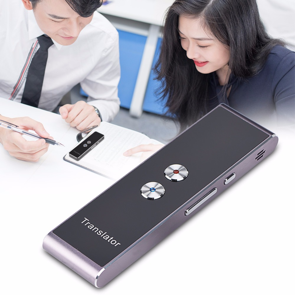 Portable Smart Voice Translator 3 in 1 voice Text Photo Language Translator For Learning Travel Business