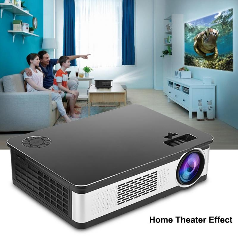 32g Home Theater Projector 30-120in Dlp Mini Projector Wifi 5g Android Proyector Led Beamer Optische Trapezium Aanpassing