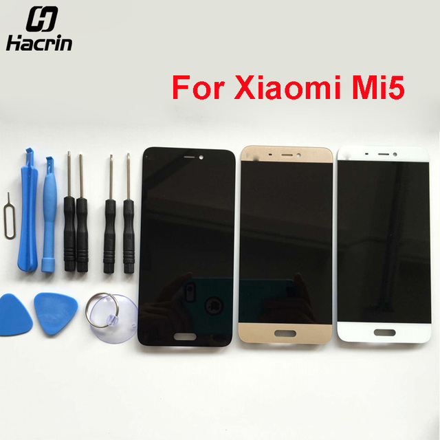 Hacrin Fur Xiaomi Mi5 Lcd Bildschirm 515 Zoll Hohe Qualitat LCD Display