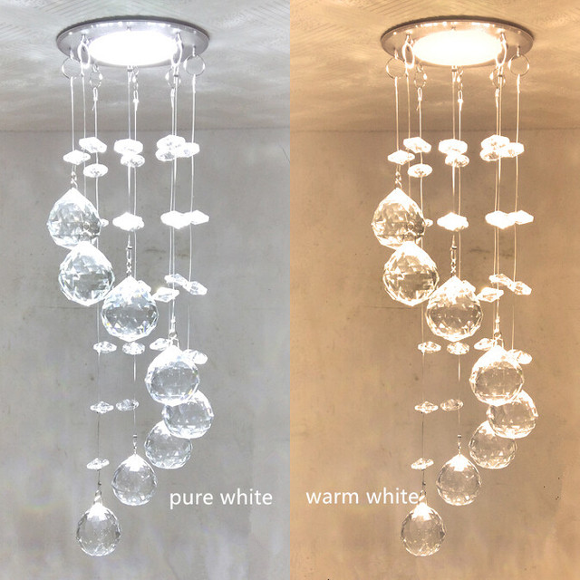 New 3w led chandelier crystals sale modern crystal lamps aisle high new 3w led chandelier crystals sale modern crystal lamps aisle high power lights 86 265v aloadofball Gallery