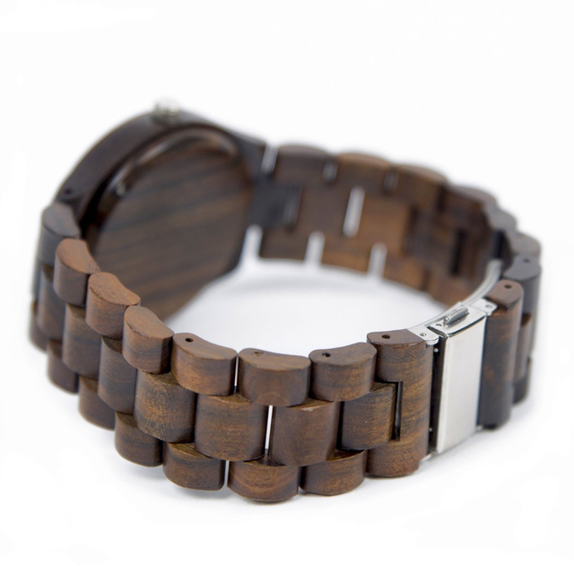 TO MY BOYFRIEND ENGRAVED WOODEN WATCH IN YOUR EYES I HAVE FOUND MY HOME 4
