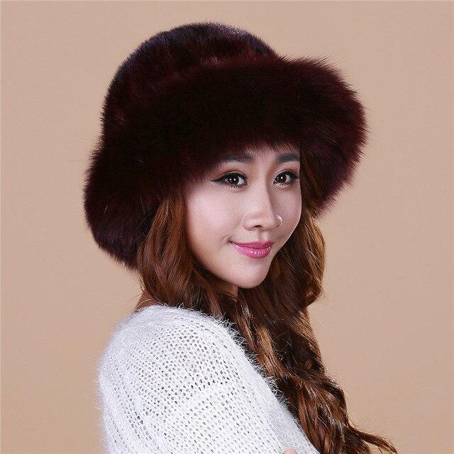 Дешевые леди новый норки норки шляпа вязаная шапка зимы детей утолщение теплая зима hat бесплатная доставка/4 цвет. # SD16